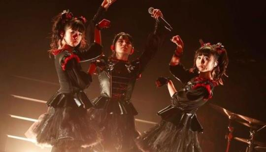 The Guardian: Babymetal review – J-pop teen metallers come ...
